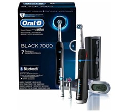 Oral B Precision Series Toothbrushes oral b precision 7000 black bluetooth