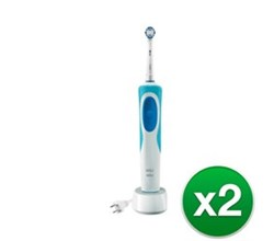 Dual Pack Rechargeable Power Toothbrushes oral b pro 500 2 pack